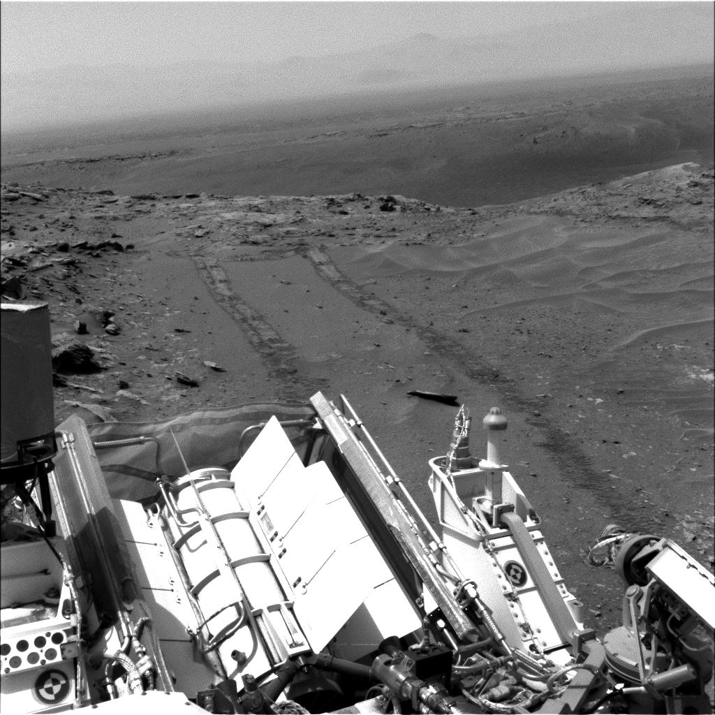 a Curiosity selfie, on Mars